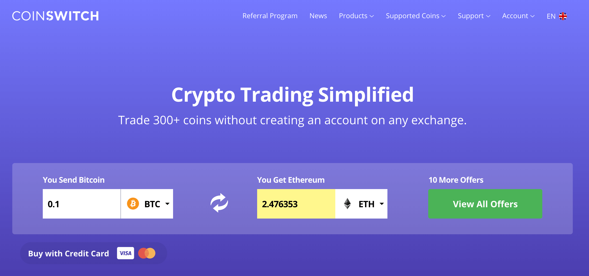 Cryptocurrency Trading Platform : Instant Cryptocurrency Exchange